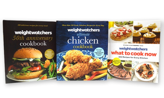 Weight Watchers Ultimate Cookbook Set (3-Piece)