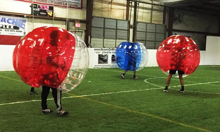 Indoor Soccer Spot  - Waxahachie:  $99 for One-Hour of Bubble Soccer at Indoor Soccer Spot ($280 Value)