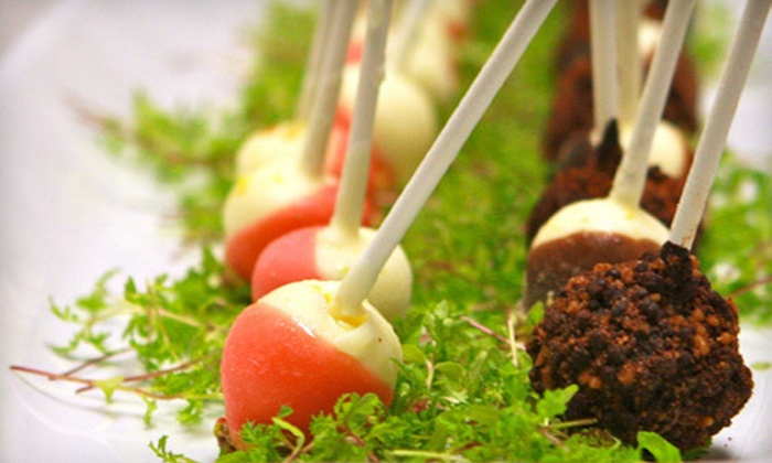 The Appetizer Store - North Scottsdale: $45 for 50 Assorted Cheesecake Pops at The Appetizer Store ($89.95 Value)