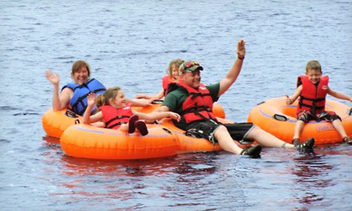 Adirondack Tubing Adventures - Adirondack Tubing Adventures: Two- or Four-Hour Guided Tubing Trip for Two from Adirondack Tubing Adventures in Lake Luzerne (Up to 54% Off)