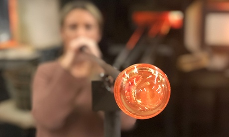 One- or Three-Hour Glass-Blowing Workshop for One or Two at Luke Adams Glassblowing Studio (Up to 50% Off)