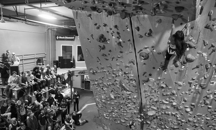 Rock-Climbing Package, One-Month Membership, or 10 Yoga Classes at Rocknasium (48% Off)