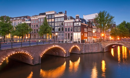 7-Day London and Amsterdam Vacation with Airfare from go-today. Price/person Based on Double Occupancy.