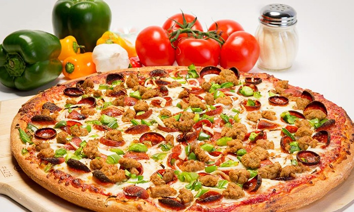 John's Pizza & Subs - Multiple Locations: $11 for $20 Worth of Italian Food, or Party Tray Pizza and 20 Chicken Tenders at John's Pizza & Subs