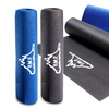 Black Mountain Products Yoga Exercise Mat with Carrying Bag
