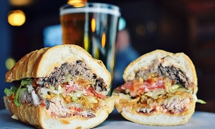 Sandwiches and Drinks for Two or Four or More at The Gramophone (40% Off)