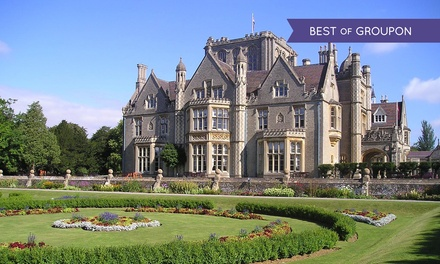 Cotswolds: 1 or 2 Nights for Two with Breakfast and Option for Wine at the 4* De Vere Tortworth Court