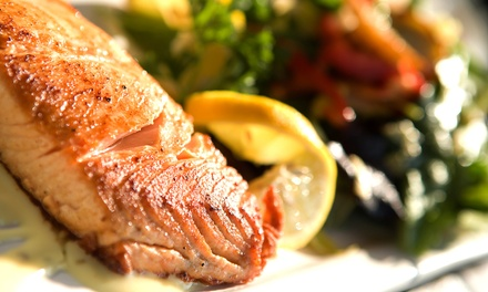 Bistro Dinner for Two or Four at East of Eighth (Up to 56% Off)
