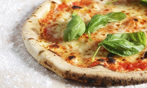 Pizza A Metro: Italian Lunch or Dinner for Two at Pizza A Metro (35% Off)