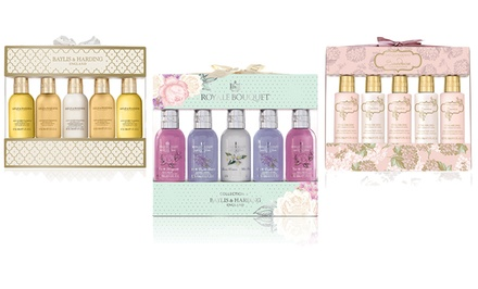 Baylis & Harding 5-Bottle Bath Gift Sets. Multiple Sets Available.