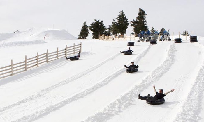 Mt. Baldy - Mt. Baldy: Lift Ride and Snow Tubing for One, Two, or Four at Mt. Baldy (Up to 56% Off)