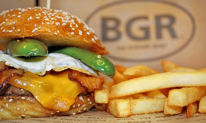 The Burger Joint - Multiple Locations: $9.99 for a Triple D Burger Combo with Fries and a Drink at BGR The Burger Joint ($15.77 Value)