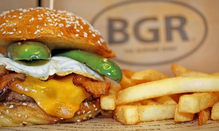 Food and Drinks at BGR The Burger Joint (Up to 35% Off)