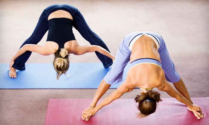 V Power Yoga - Downtown Columbus: 5 or 10 Yoga Classes or 30 Days of Unlimited Classes at V Power Yoga (Up to 63% Off)