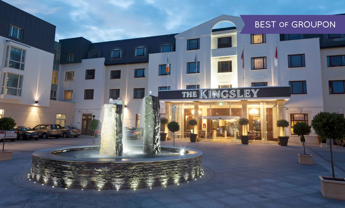Cork: 1 or 2 Nights with Breakfast, Spa Credit and Late Check-Out at The 4* Kingsley