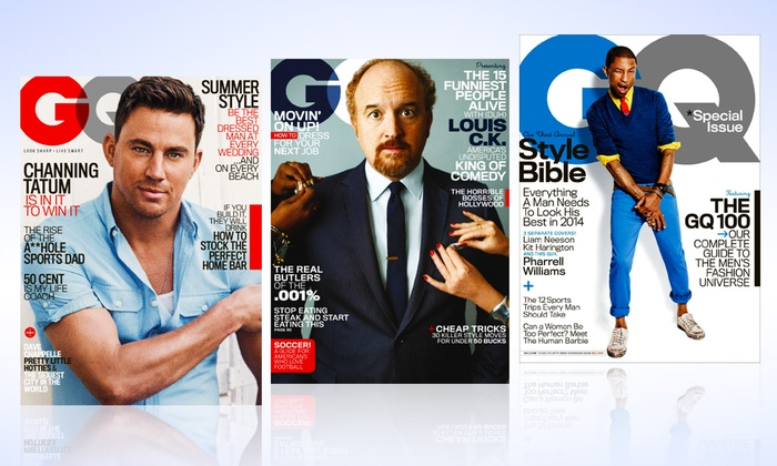 1-Year, 12-Issue Subscription to GQ: 1-Year, 12-Issue Subscription to GQ