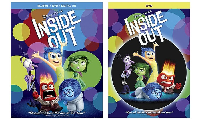 Inside out on blu ray or dvd groupon goods for Inside 2007 dvd