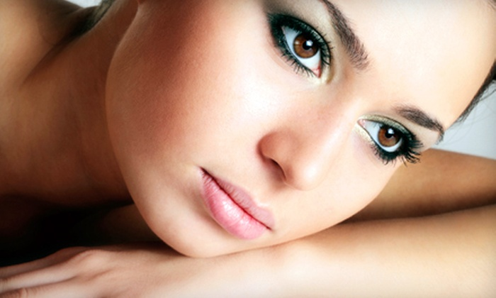 Gold Salon & Spa - Plano: Spa Package with Facial, Microdermabrasion, and Eyebrow Shaping for One or Two at Gold Salon & Spa (Up to 84% Off)