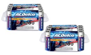 ACDelco Maximum Power Alkaline Batteries AA or AAA (24-Pack)