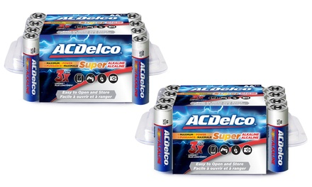 ACDelco Maximum Power Alkaline Batteries AA or AAA (24-Pack)