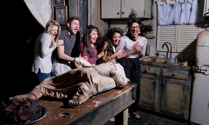 Ripley's Haunted Adventure San Antonio - East Side: Haunted Tour for One, Two, or Four to Ripley's Haunted Adventure (Up to 42% Off)