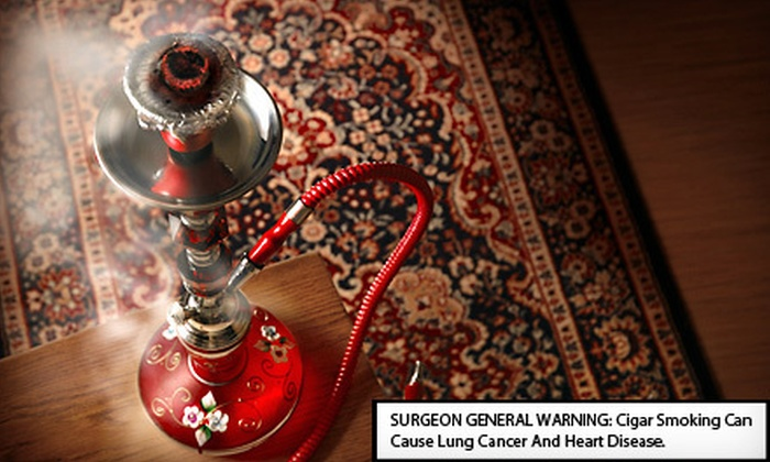 Zeeba Lounge - Federal Hill - Montgomery: Hookah Night for Two or Four with Mediterranean Sampler Platter and Tea at Zeeba Lounge (Up to 53% Off)