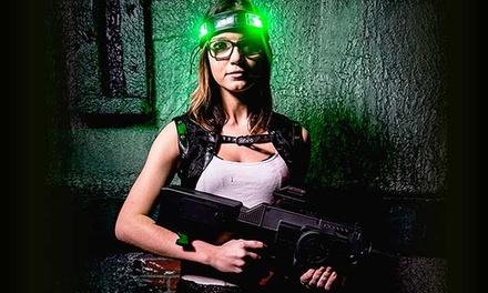 Laser Tag at Combat Chicago (Up to 47% Off). Eight Options Available.