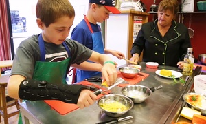 Ridgewood Culinary Studio: $78 for a Six-Week Fall, Winter, and Spring Kids' Cooking Class at Ridgewood Culinary Studio ($150 Value)