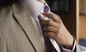 Haberdashery: Custom Tailored Shirt at Haberdashery Custom Apparel (Big & Tall available) (45% Off)