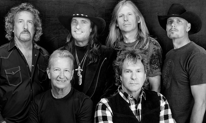The Outlaws and Blackhawk - Florida Theatre: The Outlaws and Blackhawk (Friday, August 28, at 8 p.m.)