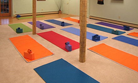 Four Weeks of Unlimited Yoga Classes at Willow Tree Yoga (75% Off)