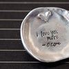 Personalized Hand-Stamped Trinket Plate from Bliss Stamped Jewelry