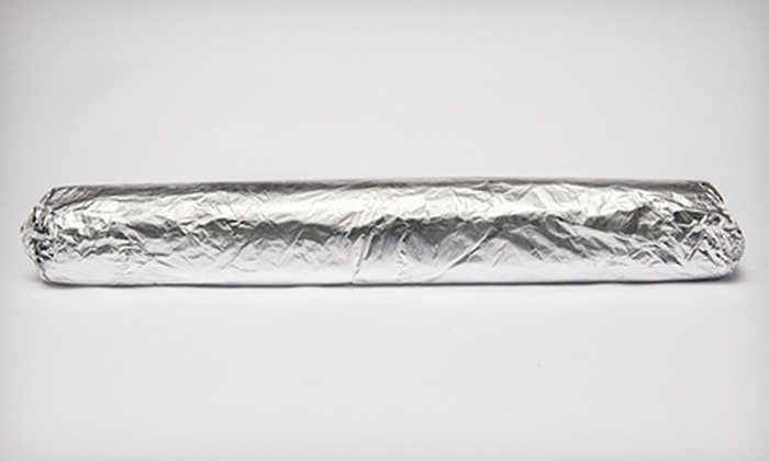 Iguanas - Multiple Locations: $11 for an 18-Inch Five-Pound Burritozilla for Up to Five at Iguanas ($21 Value)