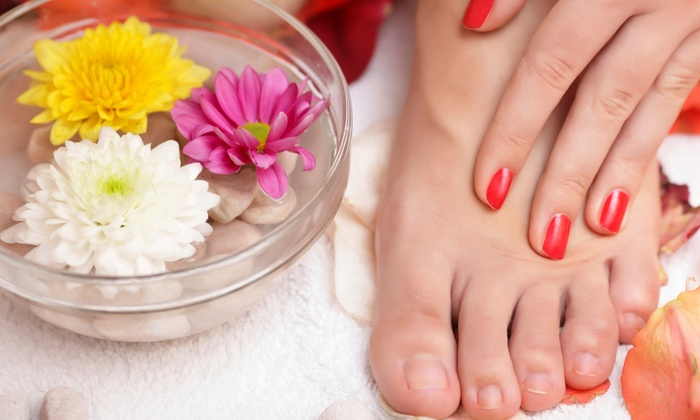 Salon FX - West Old Town: Two Manicures or Pedicures at Salon FX (Half Off)