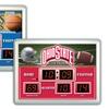 NCAA Scoreboard Wall Clocks