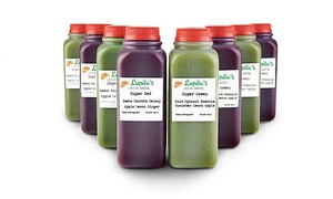 Lupito's Juice Bar: $97 for a Three-Day Cold Press Juice Cleanse at Lupito's Juice Bar ($179 Value)