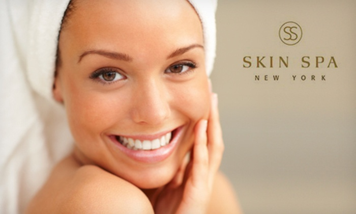 Skin Spa New York - Multiple Locations: Facial Treatments at Skin Spa New York (Up to 62% Off). Three Options Available.