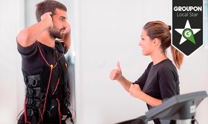 Positive Fitness: 4 u 8 sesiones de electroestimulación muscular con entrenador personal y 1 masaje deportivo desde 69,95 €