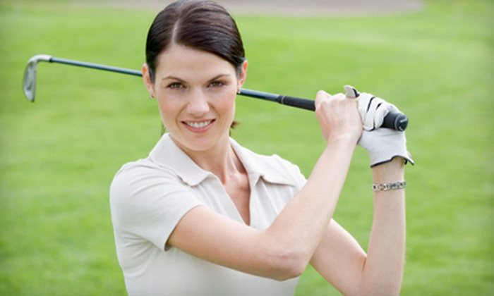 City Golf Boston - Multiple Locations: One or Five Private Golf Lessons with Video Analysis from City Golf Boston (Up to 61% Off)