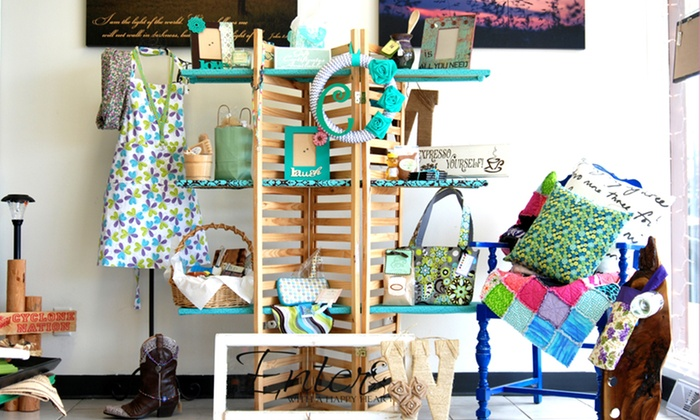 Sweetly Said Gift Shop - Merle Hay: Locally Made Gifts and Home Decor at Sweetly Said Gift Shop (Half Off). Two Options Available.