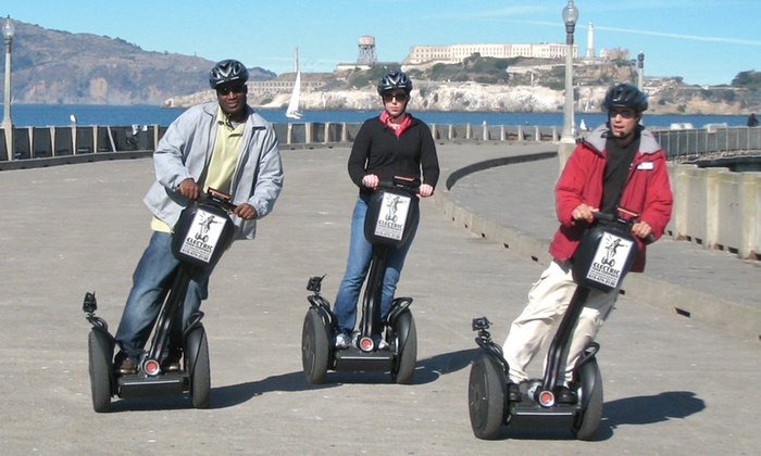 Electric Tour Company - Fisherman's Wharf: $38 for a Segway Tour of Fisherman's Wharf and the Waterfront from The Electric Tour Company ($70 Value)