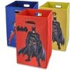 Batman or Superman Folding Laundry Baskets