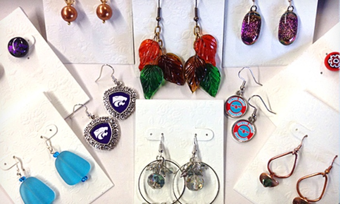 Creations Unique Studio - Gage Village Shopping Center: $19 for Three Pairs of Earrings at Creations Unique Studio (Up to $45 Value)
