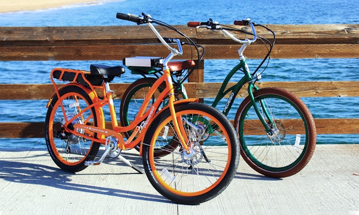 Pedego Electric Bikes - Corona Del Mar/Newport Beach: $79 for a One-Day Electric Bike Rental for Two from Pedego Corona Del Mar/Newport Beach ($130 Value)