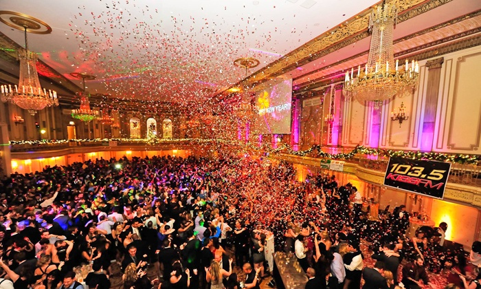 New Year's Eve Soiree - Downtown: New Year's Eve Soiree for One or Two at Palmer House Hilton on December 31 at 9 p.m. (Up to 37% Off)