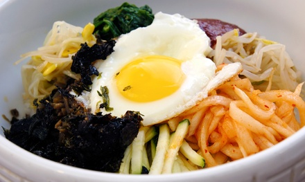 Korean Food at Riverside Korean Restaurant (Up to 45% Off). Two Options Available.