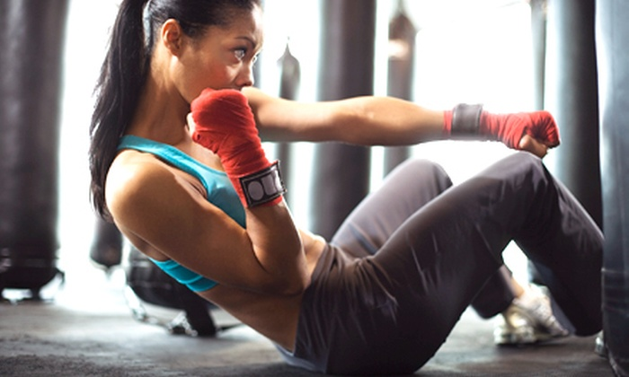 Fearless Fitness - Winterville: 5 or 10 MMA-Style Fitness Classes at Fearless Fitness (61% Off)
