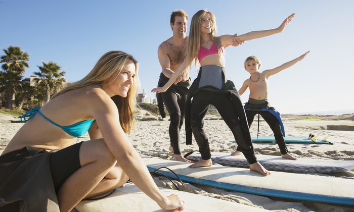 Universi Surfing - Orange County: Two-Hour Group Surfing Lesson or Semi-Private Surfing Lesson from Universi Surfing (Up to 40% Off)