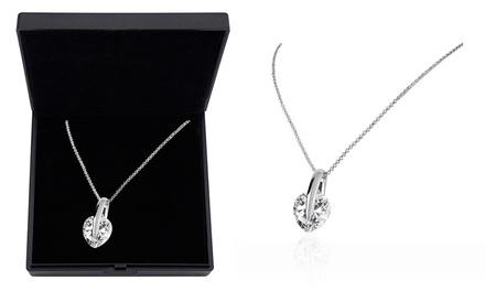 Colar com coração de cristal Made With Cubic Zirconia por 10,99€