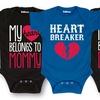 Valentine's Day Infant Bodysuits